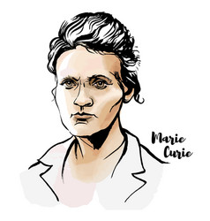 Marie curie vector