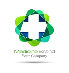Medical pharmacy logo design Template for your vector
