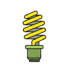 Save energy light bulb vector