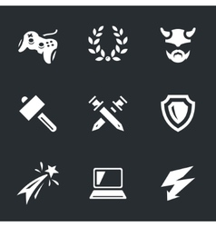 Set of Video Games vector image