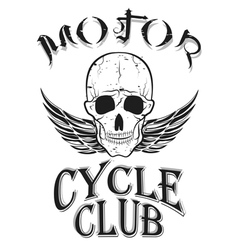 set of vintage bikers logo vector image