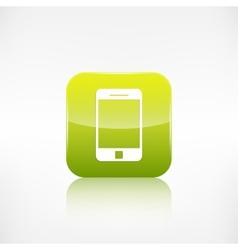 Smartphone icon Tablet symbol vector image