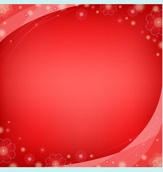 valentines day background love symbol banner vector image
