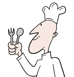 Chef character vector
