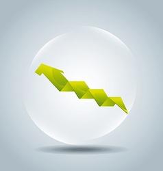 arrow infographic design vector image