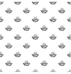 bbq party pattern seamless vector image