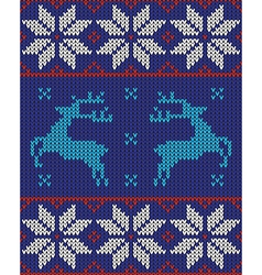 blue white and red jumper vector image