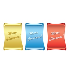 Color backgrounds - papyrus - merry christmas vector