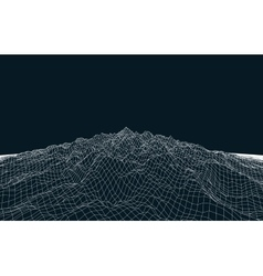 Landscape geometry vector