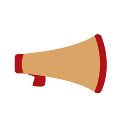 megaphone social media marketing loud concept vector image