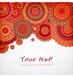 Moroccan Styled Backdrop with Text Space vector