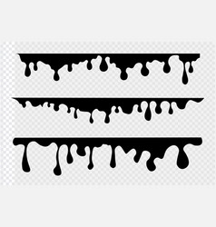 paint drips background vector image