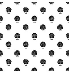 Salad pattern seamless vector
