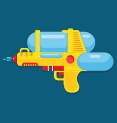water gun vector image