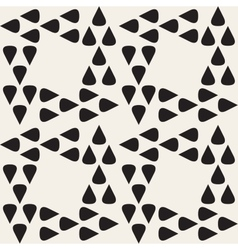 Seamless Black and White Geometric Pattern vector image vector image