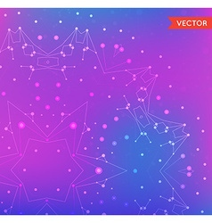 Abstract Background with Particles Structure of vector image