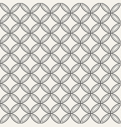 Abstract seamless ornamental quatrefoil pattern vector