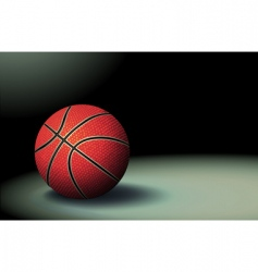 basketbal vector image
