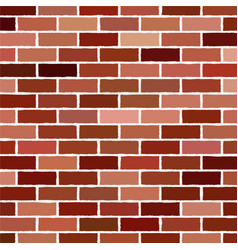 brick wall background - texture vector image