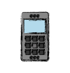 Cellphone icon imafe vector