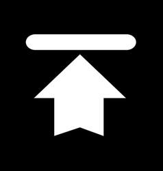 download button icon upload button icon design vector image