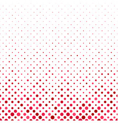 Red repeating abstract dot pattern background vector