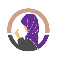 Simple element from muslim collection vector