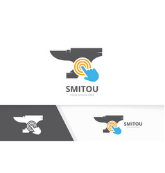 Smith and click logo combination vector