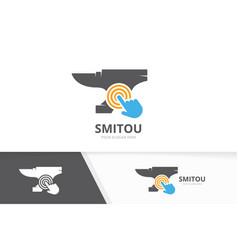 Smith and click logo combination vector