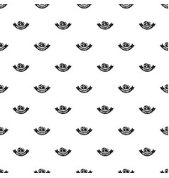 steak bbq party pattern seamless vector image