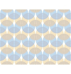 Abstract background Undulating curves are vector image vector image