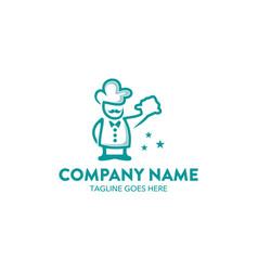 chef logo-5 vector image