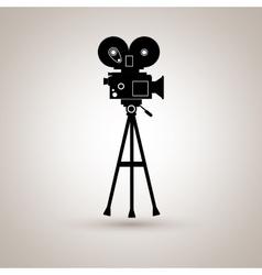 film industry flat icon design vector image