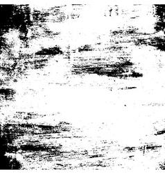 Grunge brush texture black white vector image vector image