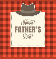happy father day typographic vector image vector image
