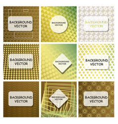 covers with minimal design cool geometric vector image