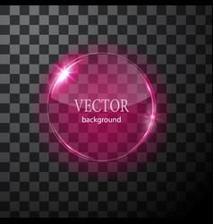 glass circle plane easy editable vector image