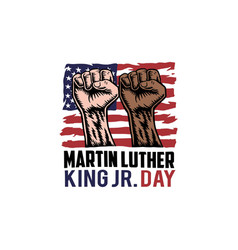 martin luther king jr day vector image