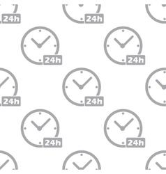 New Clock seamless pattern vector image
