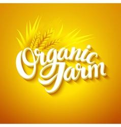 Organic Farm Logo vector