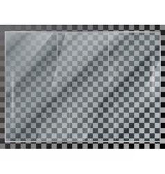 glass showcase vector image