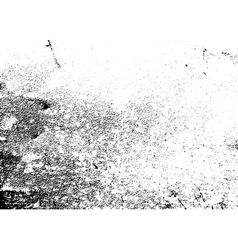 Grunge grain texture white black vector image vector image