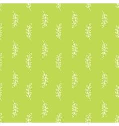 Olive branch pattern vector image
