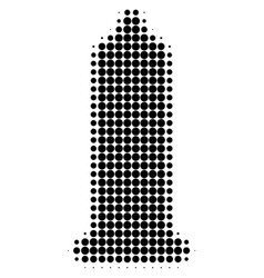 condom halftone dotted icon vector image