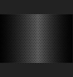 Dark carbon fiber background stock vector