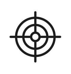 Targeting icon vector