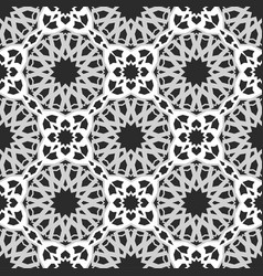 Traditional arabic background vector