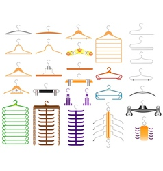 Hanger for clothes vector image