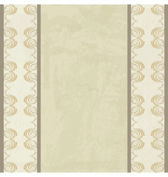 vintage background with a borders vector image