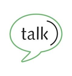 Google Talk vector image vector image